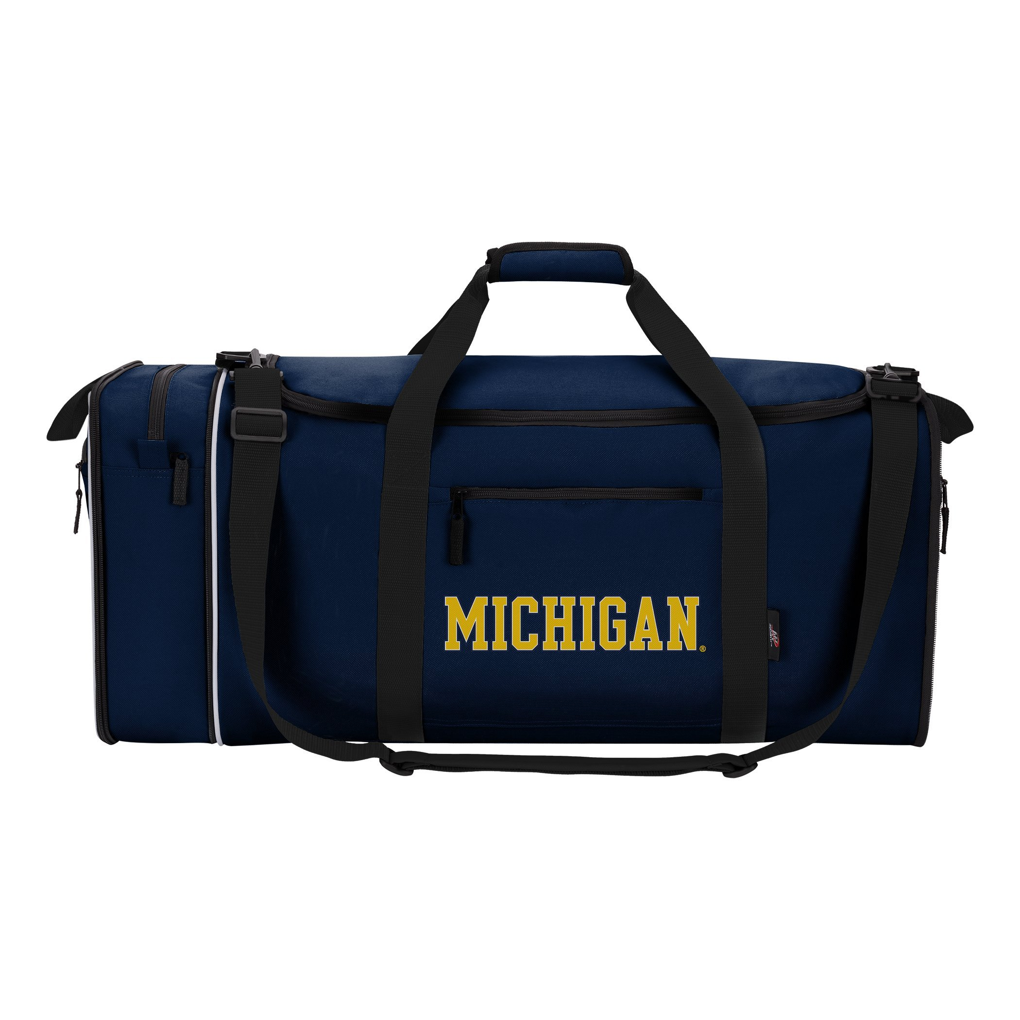 Officially Licensed NCAA University of Michigan ''Steal'' Duffel Bag, Navy