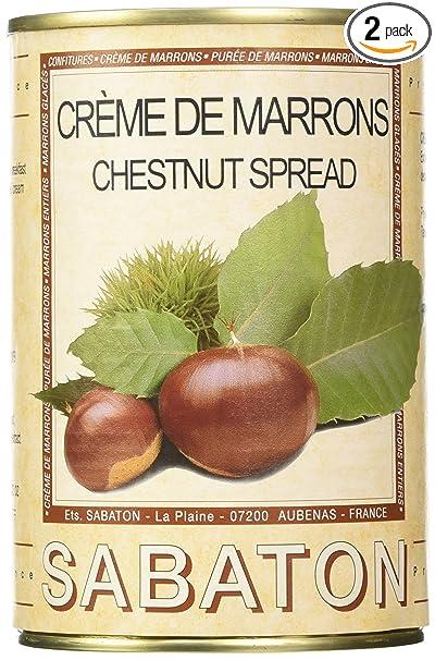 74dca62b6c04 Amazon.com   Sabaton France (Tin) Chestnuts - Marrons Spread