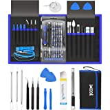 XOOL 80 in 1 Precision Screwdriver Set with Magnetic Driver Kit Professional Electronics Repair Tool Kit for Computer, PC, Ma