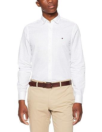 136edc3f Tommy Hilfiger Men's Multi Dash Print Shirt: Amazon.com.au: Fashion