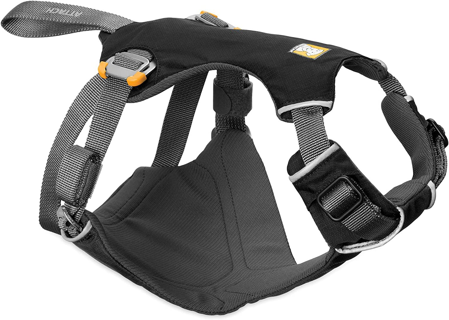 RUFFWEAR - Load Up, Dog Car Harness with Strength-Rated Hardware, Secure Vehicle Restraint, Universal Seat Belt Attachment