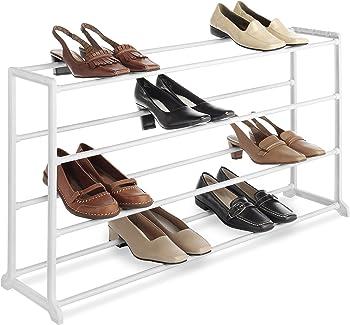 Whitmor 20 Pair Floor Shoe Rack