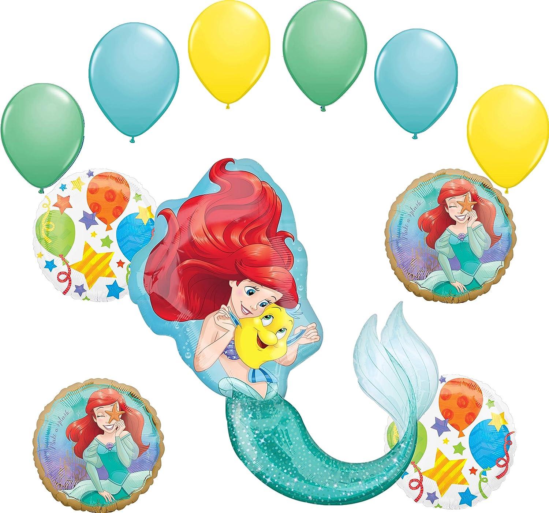 "Mermaid Tail 34"" Balloon Birthday Party Decorations Ariel"
