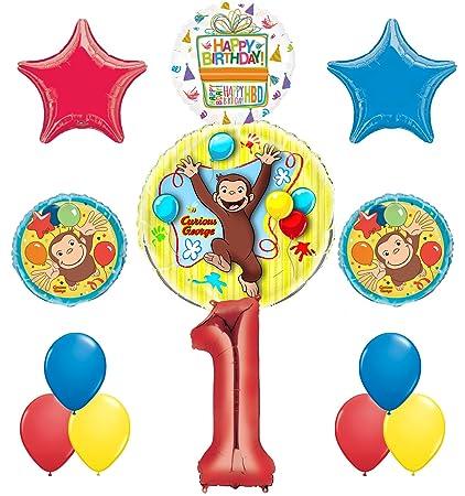Amazon.com: Jorge el curioso 1st fiesta de cumpleaños ...