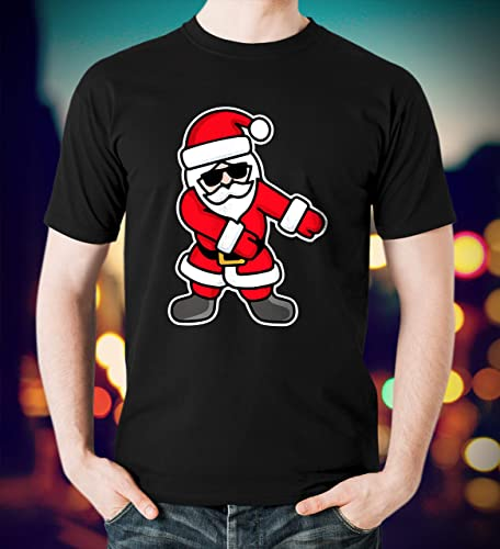 8698ea142 Amazon.com: Santa Claus Floss Like A Boss Christmas Funny Tshirt Hoodie:  Handmade