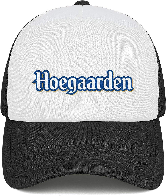 Adjustable Baseball Cap One Size Trucker Hat All Cotton Comfortablecaps AbbottMacAdam Men Hoegaarden-Witbier-Logo
