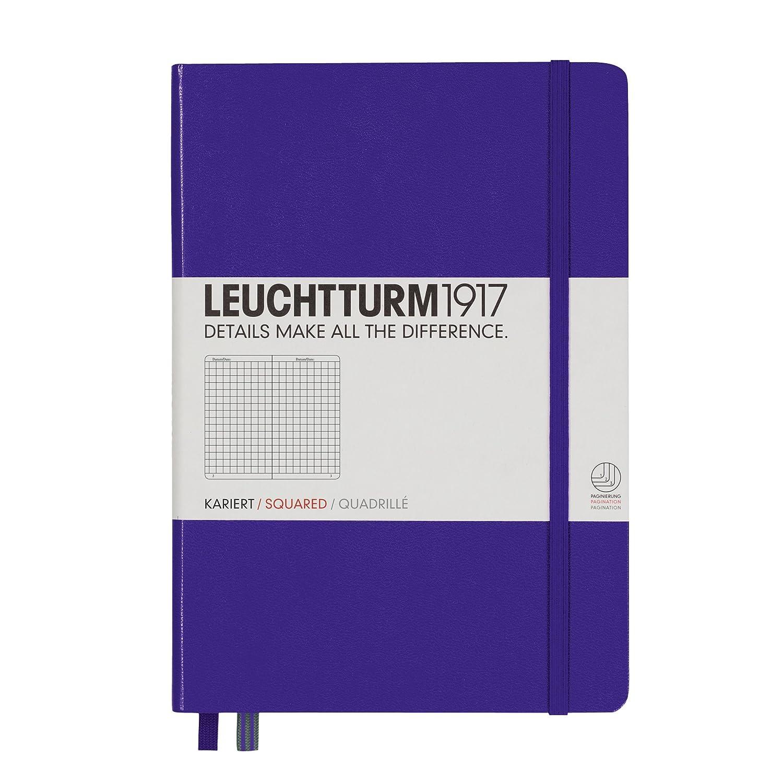 LEUCHTTURM1917 338725 Notizbuch Medium Medium Medium (A5), Hardcover, blanko, weiß B00SBDMW6I | Praktisch Und Wirtschaftlich  | Moderne Muster  | Stilvoll und lustig  1de2d0