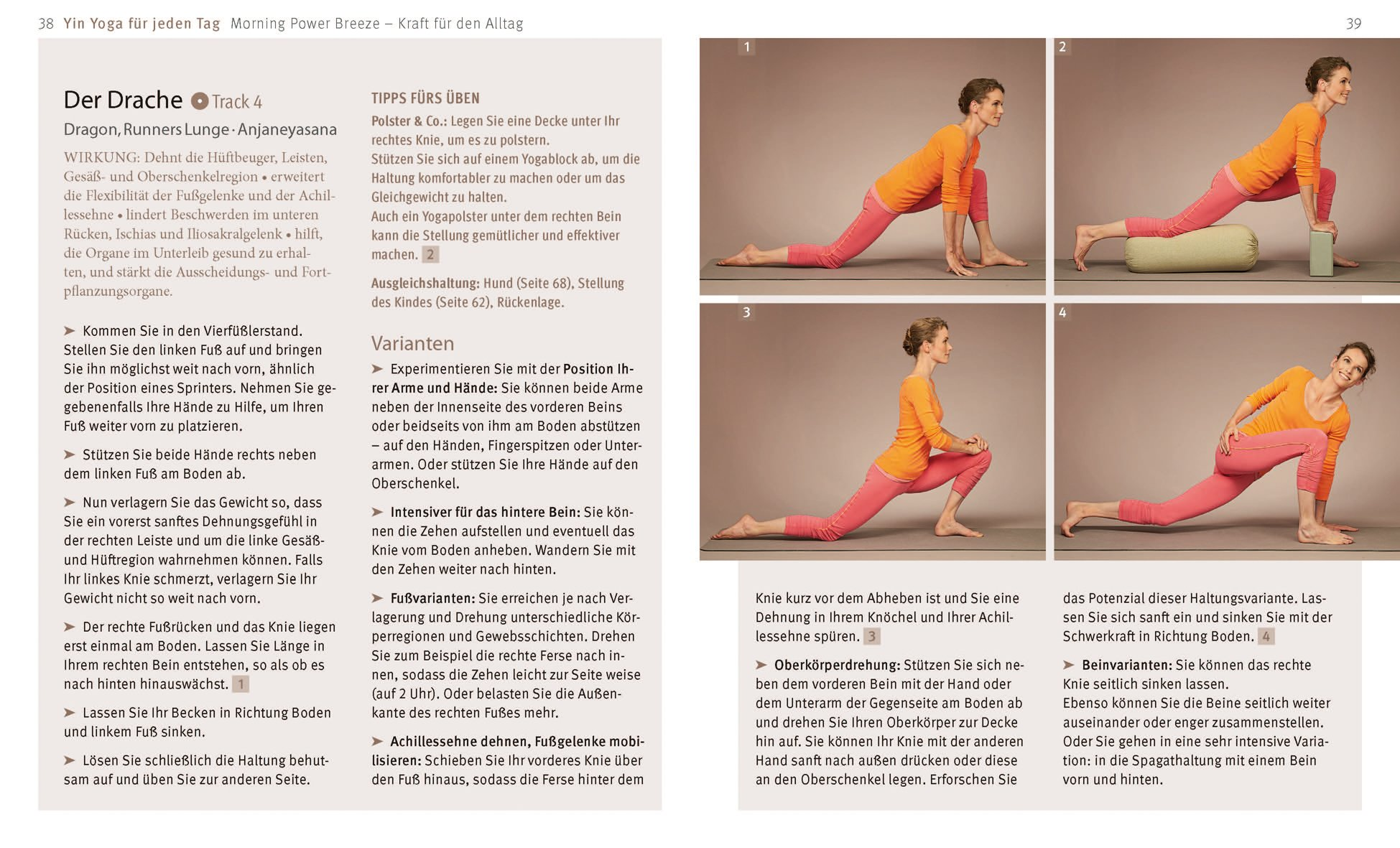 Yin Yoga Mit Cd 9783833835711 Amazoncom Books