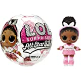 LOL Surprise All-Star B.B.s Sports Series 3 Soccer Team Sparkly Dolls with 8 Surprises, Accessories, Surprise Doll