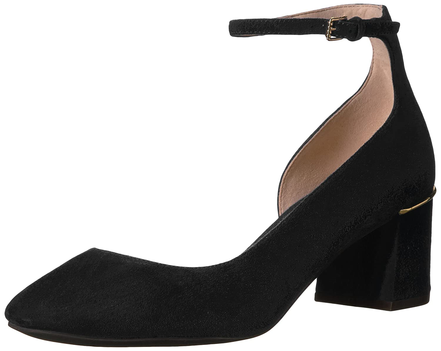 Cole Haan Women's Warner Grand Pump 55MM B06WW8YLBC 6.5 B(M) US|Black Suede
