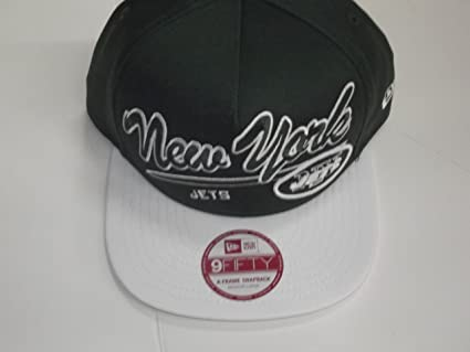 best website 6df32 3e3c9 Image Unavailable. Image not available for. Color  New York Jets New Era  Script Snapback Hat