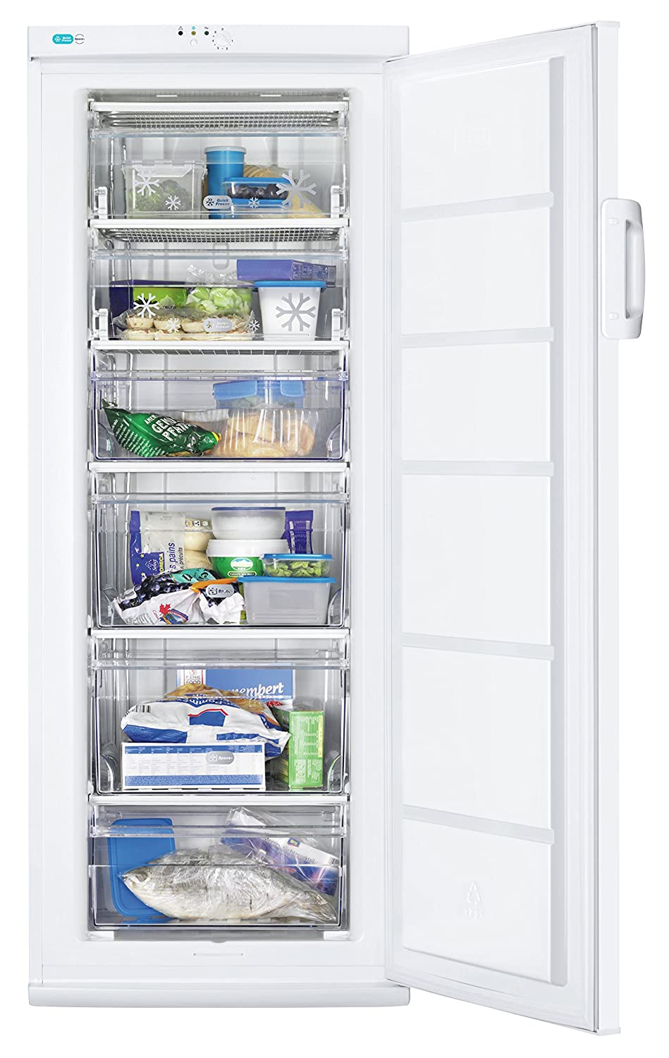 Zanussi ZFU23401WA Independiente Vertical 197L A++ Blanco ...
