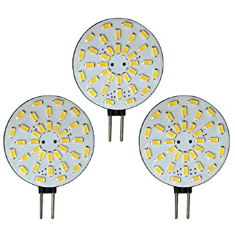 36 Led 2 W Lampe Intensité De Variable Versand 12 AcDc Ampoule X Smd 3 À G4 Ampoules Lot V 120°rondPb Variateur D'intensité Avec FlT1KJc3
