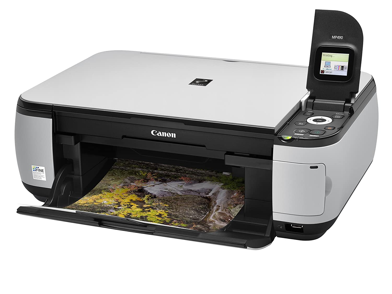 canon pixma mp490 multifunction printer print scan copy amazon rh amazon co uk Canon PIXMA MX320 User Manual Photo All in One Printer PIXMA MP490