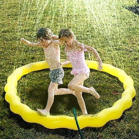 Niños jardín espolvorear Splash Juego Juguete Agua pulverizada ...
