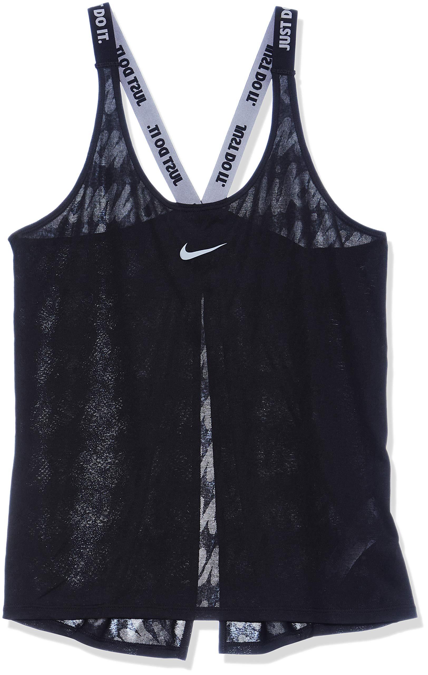 Nike Women's Dri-FIT Elastika Training Tank Top, Multicolor (Black/Black/Cool Grey), M by Nike