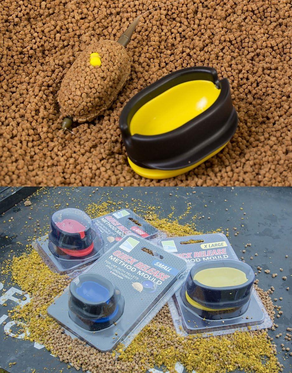 Preston Quick Release Method Mould Form zum Bef/üllen der Preston Inline Feeder Large