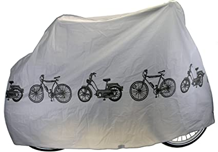 M-Wave Peva Funda Cubre-Bicicleta, Unisex Adulto, Gris, Talla ...