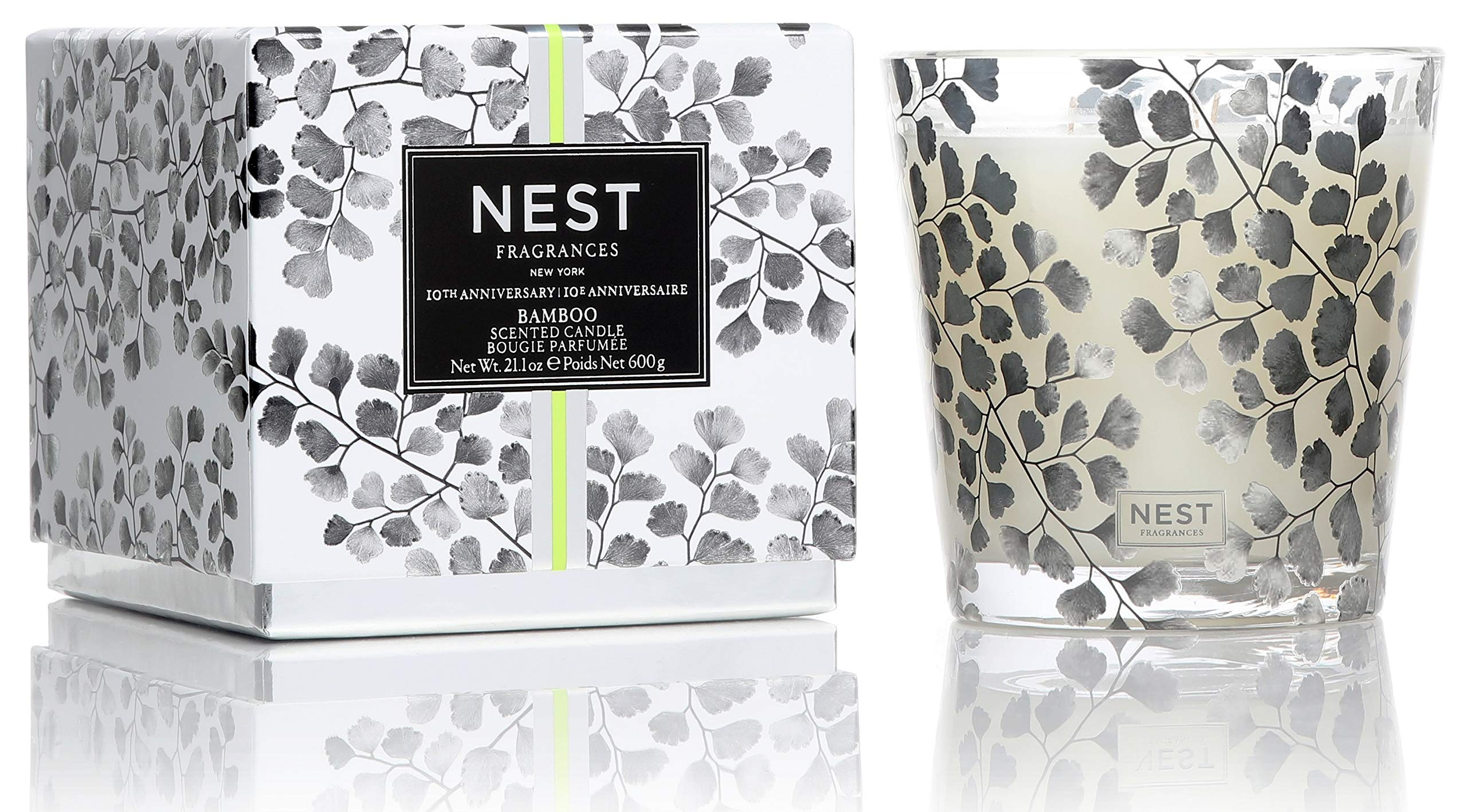 NEST Fragrances Bamboo 3-Wick Candle