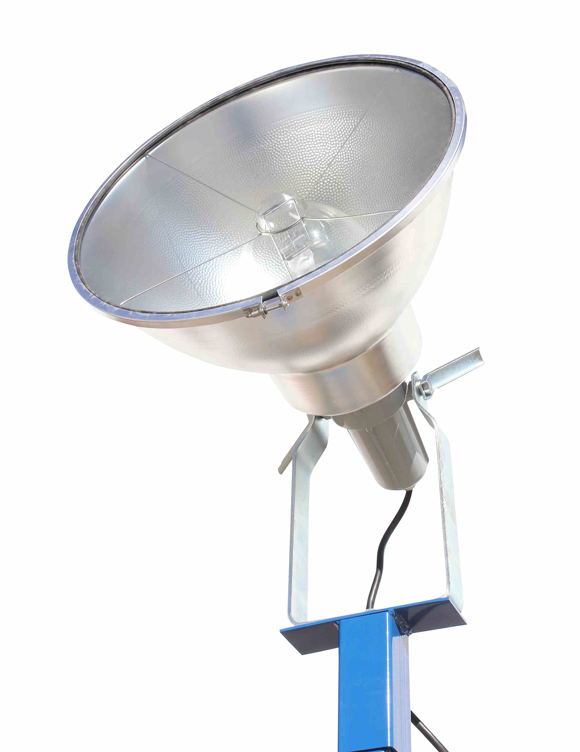 Portable Light Tower - 1000 Watt Metal Halide - Covers 23,000 SF - Extends to 12 feet(-240 Volts) by Larson Electronics (Image #5)