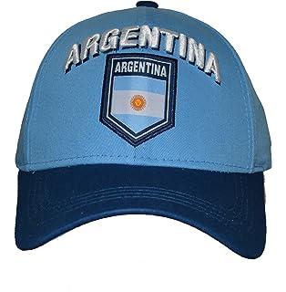 Argentina Hat Cap Adjustable Rhinox Group National Team Soccer Argentina Flag Logo