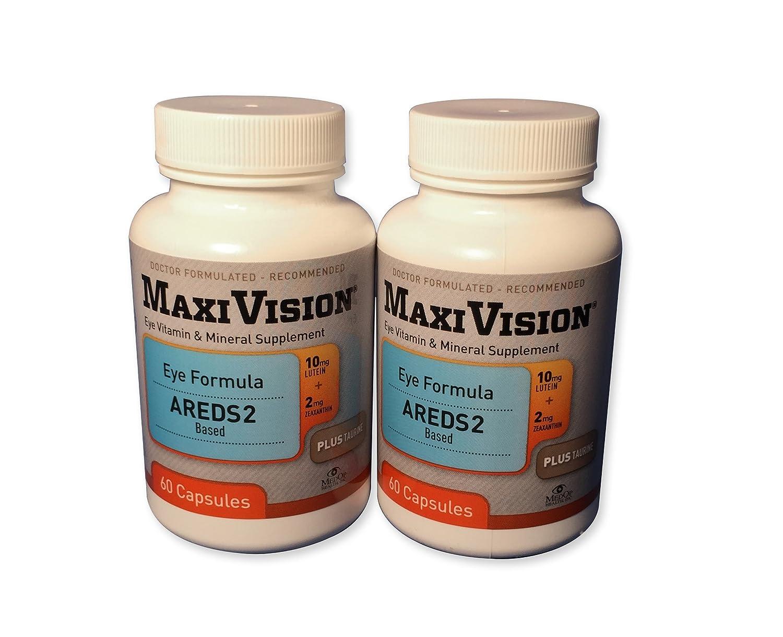 MedOp MaxiVision Eye Formula – 60 Capsules, 2 Bottles
