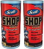 SCOTT Shop Towels ブルーロール 55枚2ロール組