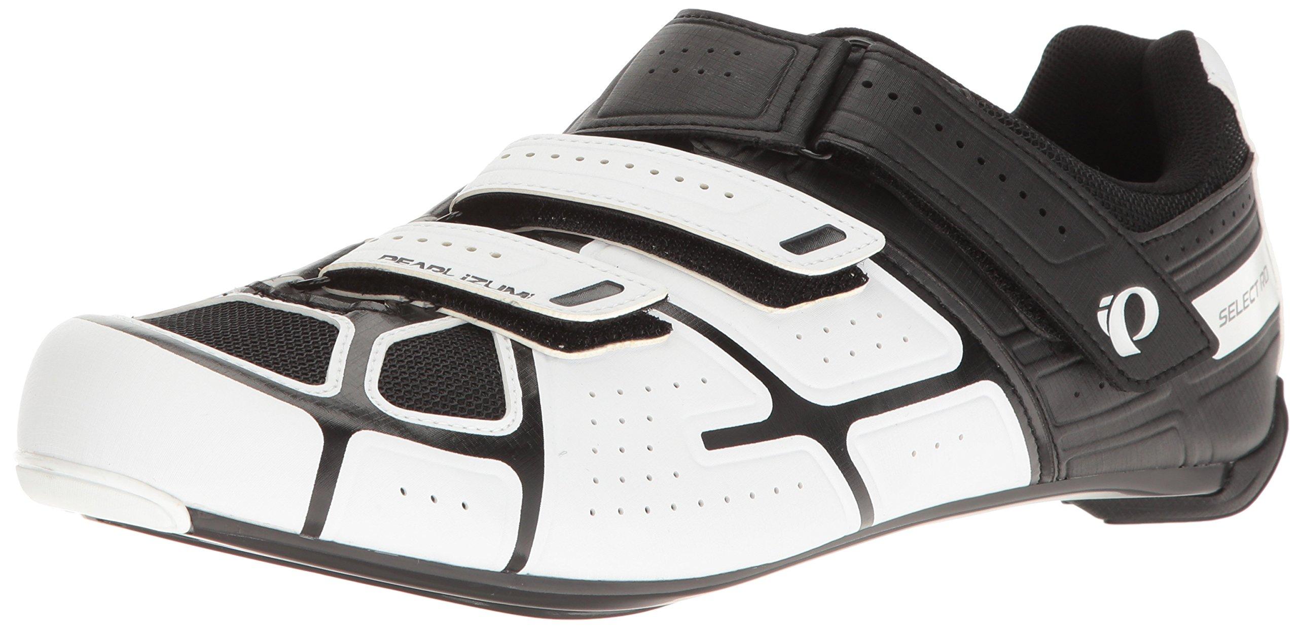 Pearl iZUMi Men's Select RD IV Cycling Shoe, White/Black, 51.0 EU/15.5 M US