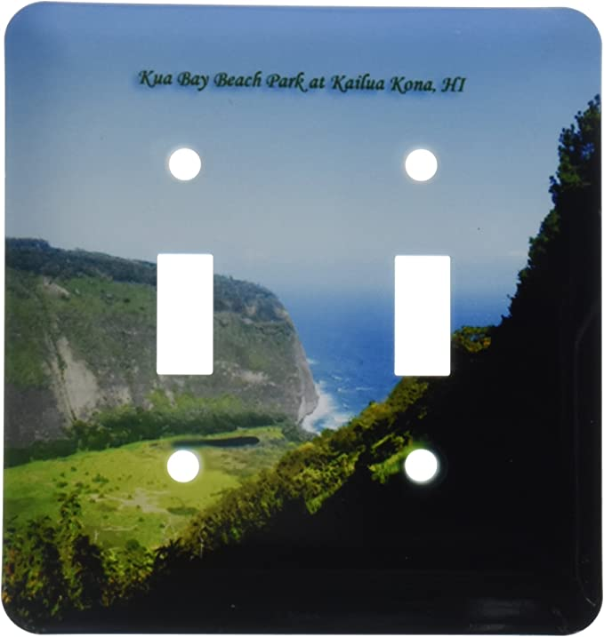 3drose Lsp 107108 2 Waipio Valley And Black Sand Beach Big Island Hawaii Double Toggle Switch Multicolor Amazon Com