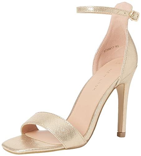 22c212f2bbb New Look Women's Rocket Ankle Strap Heels: Amazon.co.uk: Shoes & Bags