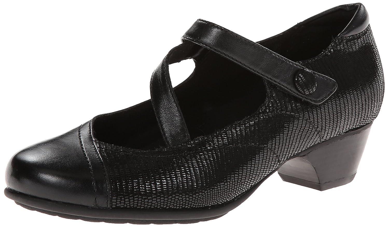 Aravon Women's Portia - AR Dress Pump B00IFPOHU6 7.5 2A US|Black Multi