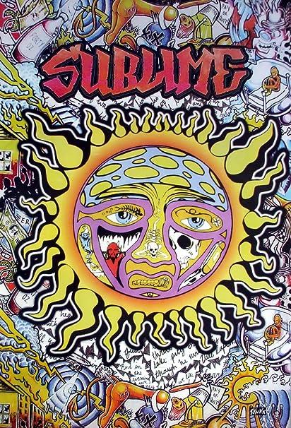 Amazon.com: 6554-m Sublime American Ska Punk Band From Long Beach ...