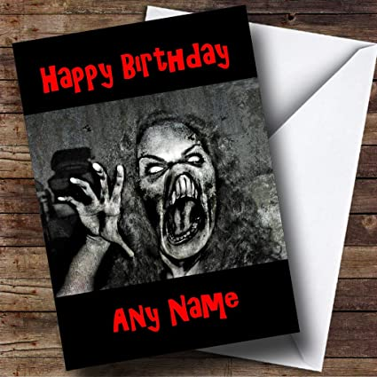 Amazon Scary Horrible Lady Monster Horror Personalized