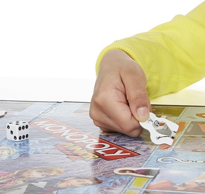 Monopoly Junior Game Frozen Edition: Amazon.es: Juguetes y juegos
