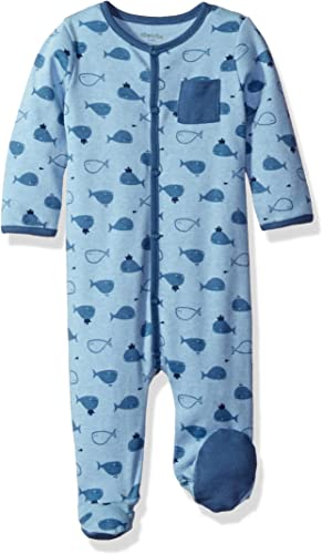 Size: 0 Blue 18-24 Months Marine Blue 04 Absorba Baby Boys 7p36211-ra Ens Combi Romper
