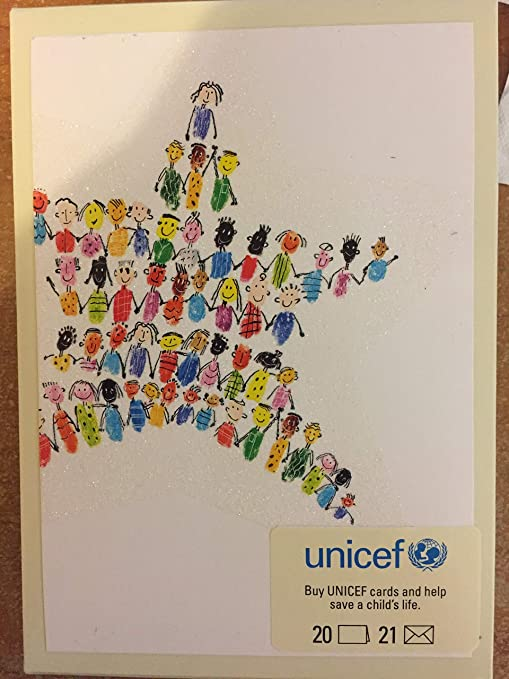 Unicef Christmas Cards.Amazon Com Unicef Holiday Cards Office Products