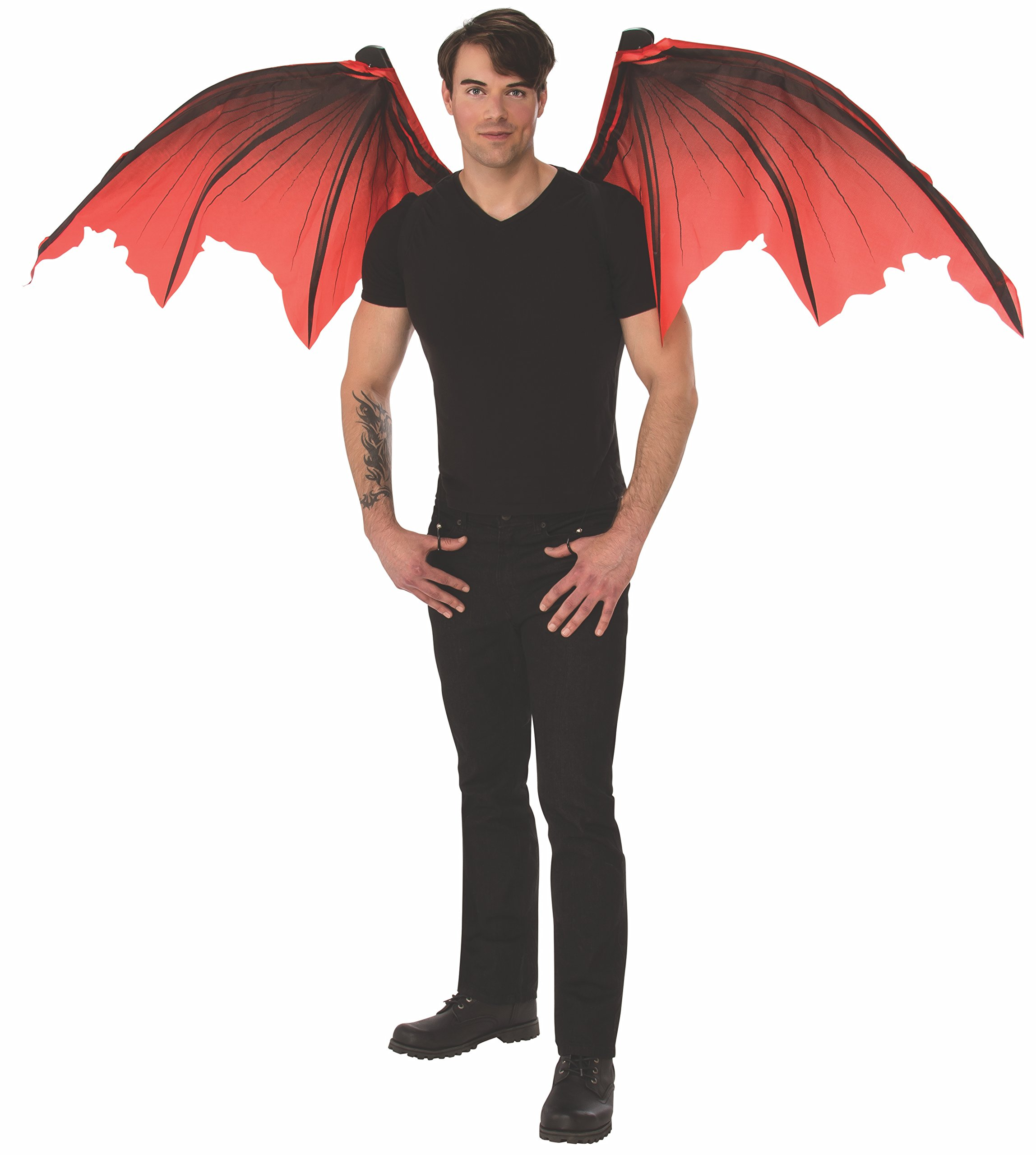 Rubie's Unisex Mechanical Wings Costume Accessory, Devil, One Size