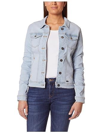 5135607d3532 Berydale Veste en jean tendance et délavée pour femme  Amazon.fr  Vêtements  et accessoires