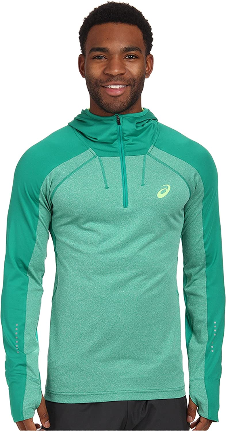 ASICS sold out Men's Performance Run Long Hooded Sleeve Max 80% OFF Top