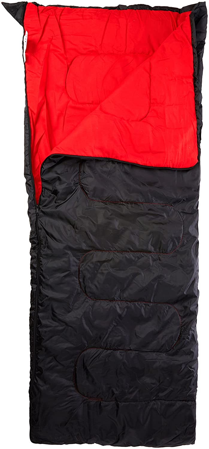 Trespass  Herren & Ladies Envelope Unisex Three Season Sleeping Bag Two Way Zipper