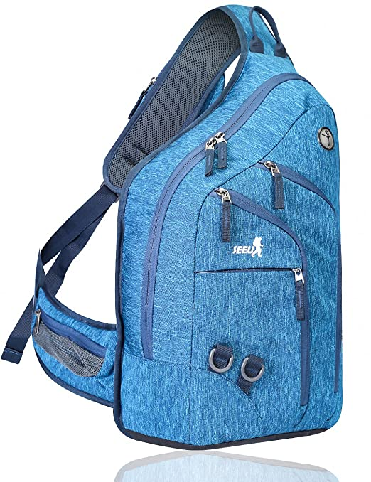 Seeu Backpack With Cell Phone Pocket On Strap