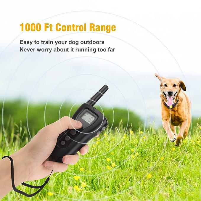 Amazon.com: Bousnic Collar de entrenamiento para perros, 2 ...