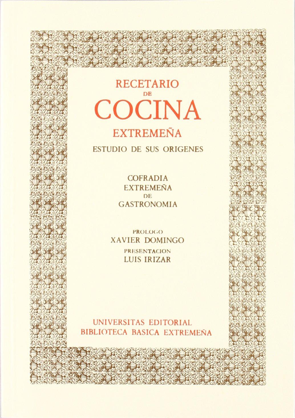 Recetario De Cocina.Recetario De Cocina Extremeña Estudio De Sus Orígenes Biblioteca