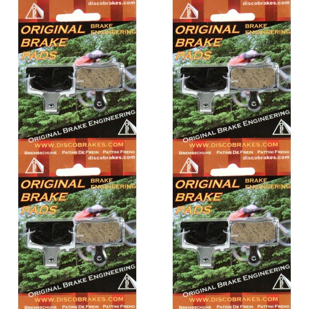 4 Pairs DiscoBrakes Shimano XTR M985 Disc Brake Pads BR-M785 Made With Kevlar DH