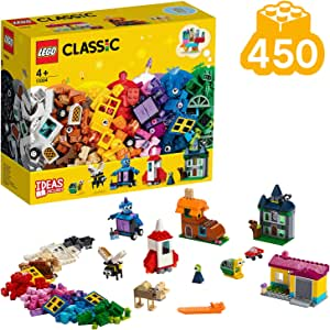 Lego Classic Windows of Creativity Building Kit, New 2019 (450 Pieces), Multi-Colour, 11004