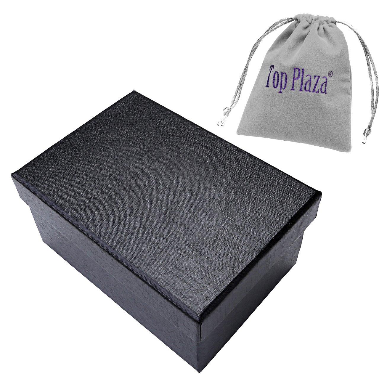 JSDDE Women Elegant Oval Silver Tone Bangle Cuff Bracelet Dress Watch 6\'\'-Thanksgiving Christmas Gift