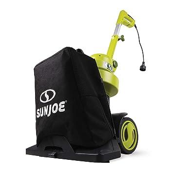 Sun Joe SBJ802E-RM soplador/aspiradora/Mulcher eléctrico 3 en 1 ...
