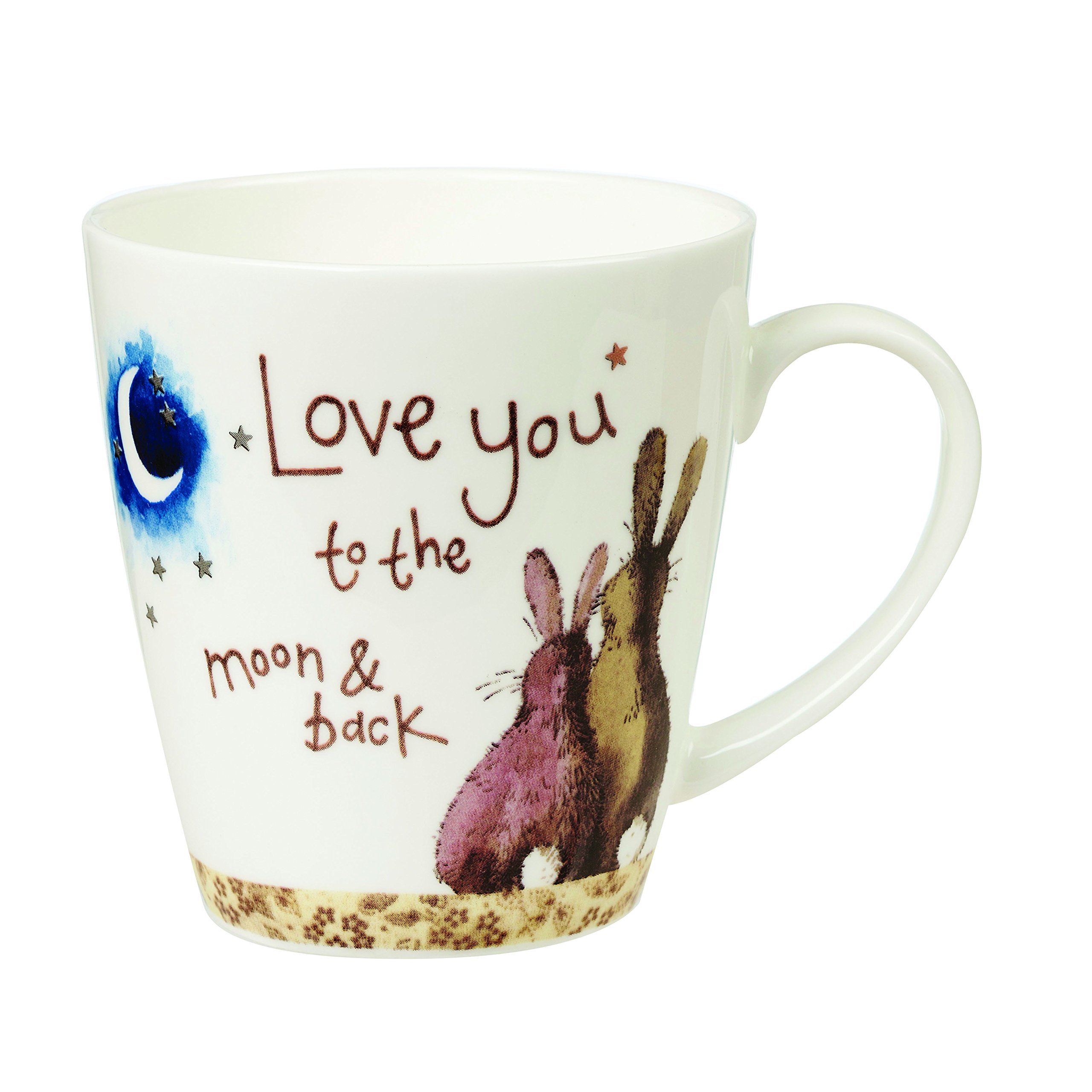 Churchill Alex Clark Love You To The Moon & Back Gift Coffee Tea Mug