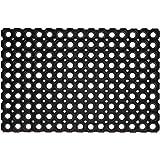 Onlymat 3 Piece Packet Flexible Drainage Rubber Floor Mat – Anti-Fatigue Water Hog Comfort Mat - Restaurant & Bar