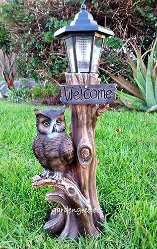 OWL Solar Lantern/Light Statue Solar Light OWL Figurine